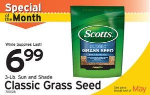 Weekly Specials Scott's Grass Seed