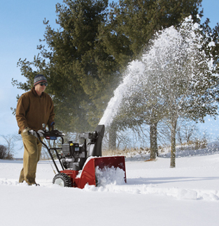 Free Snowblower Promo